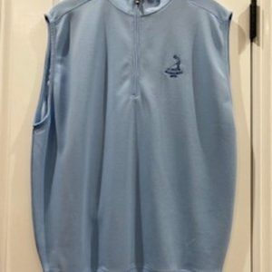 FootJoy Pinehurt quarter zip golf vest